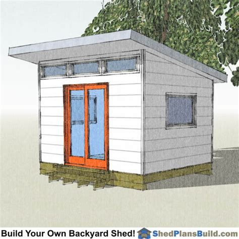 modern studio plans 10x12 modern shed plans bulid a modern studio shed
