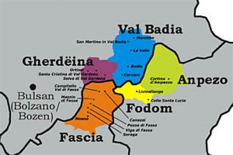 ladari a forma di ladina la lingua ladina ladinia