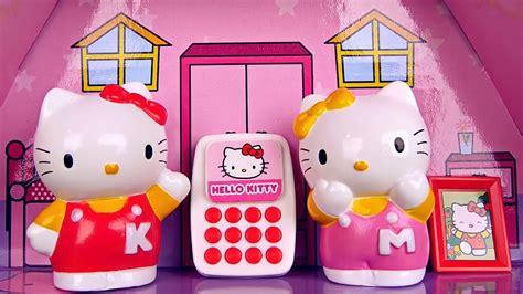 hello kitty house youtube hello kitty и её домик видео с игрушками для девочек