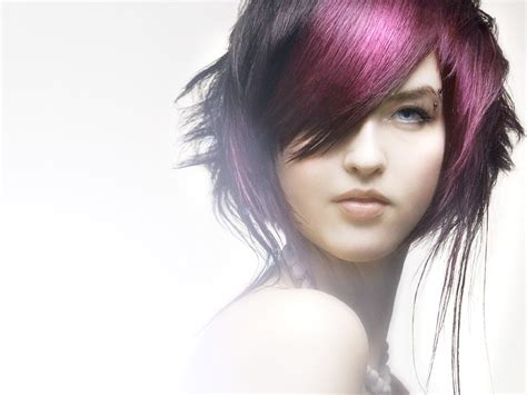 wallpaper blue hair purple hair girl wallpaper by zerkiee on deviantart