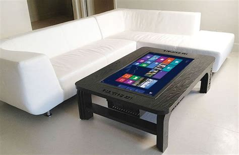 Microsoft Coffee Table Computer Microsoft Windows 8 Touchscreen Coffee Table Coolpile