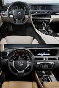 Lexus Gs 350 Vs Bmw 535i Photo Comparison Bmw 5 Series Vs 2013 Lexus Gs 350