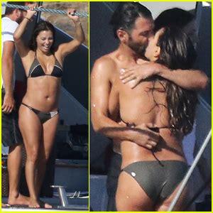 eva longoria rocks a tiny bikini on vacation with hubby