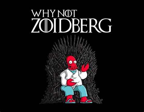 why not why not zoidberg t shirt for graphic tide