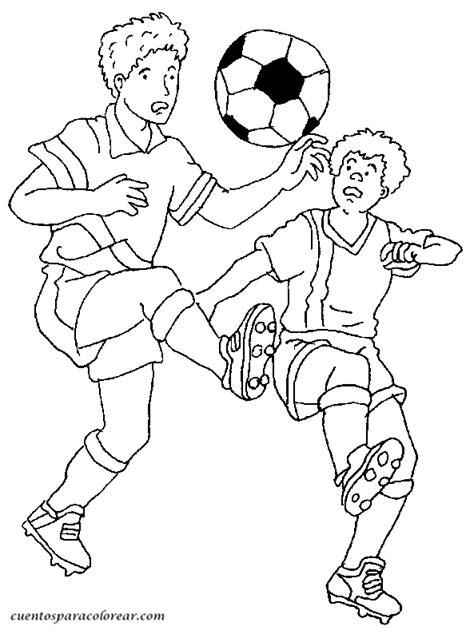 imagenes para pintar futbol dibujos para colorear f 250 tbol y futbolistas
