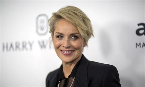sharon stone reveals her secret to looking so young sharon stone reveals secret to her young skin is