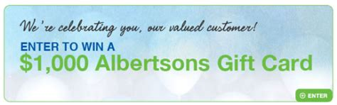Albertsons Amazon Gift Card - albertsons 74th anniversary sweepstakes win two 500 albertsons gift cards