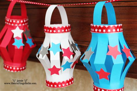 4th Of July Paper Crafts - bookinitat50 4th of july paper lanterns kid s craft in
