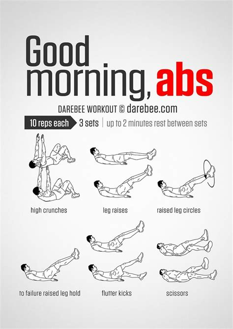 Best 25 Morning Ab Workouts Ideas On Pinterest Best Ab Workout Exercise For