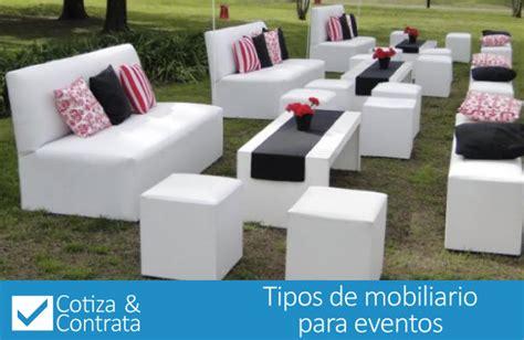 mobiliario para banquetes tipos de mobiliario para eventos cotiza contrata
