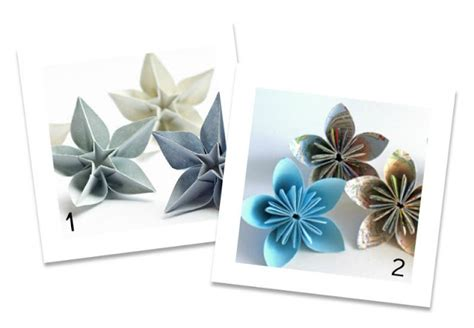Carambola Flower Origami Written - magpie and cake up of diy paper flower tutorials