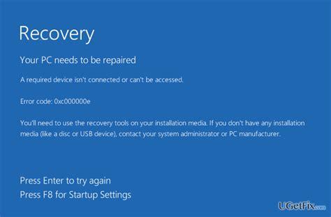 fix boot error xce windows failed  start