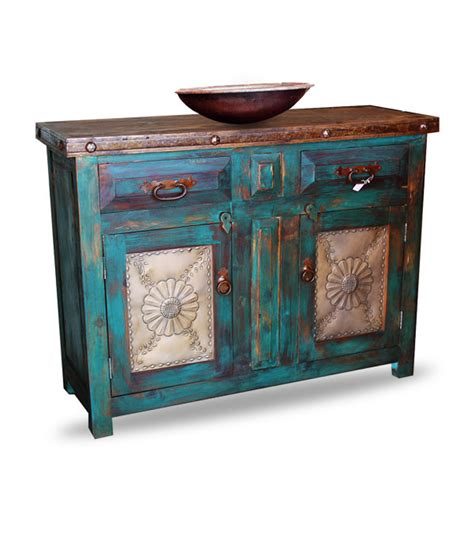 distressed bathroom furniture distressed turquoise vanity reclaimed wood furniture