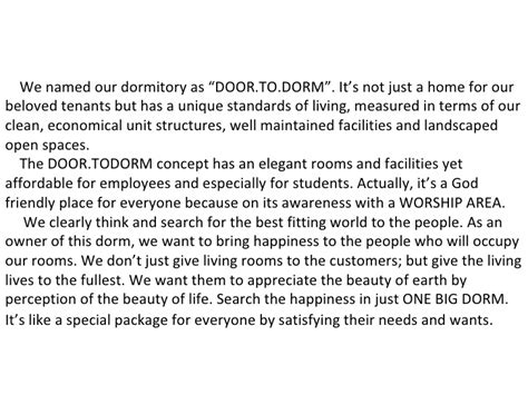 design guidelines for dormitory dormitory