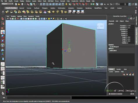 reset move tool maya maya beginner basics 9 10 snap tool and pivots tutorial