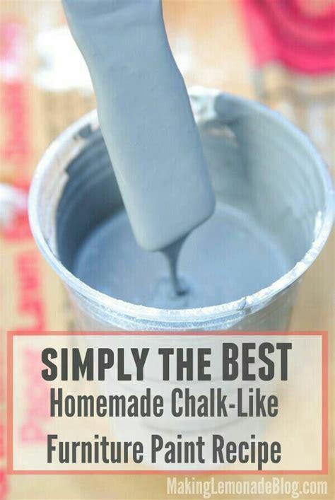 diy chalk paint formula best chalk paint formula furniture painting