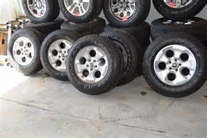 jeep wrangler wheels tire package oem factory oem