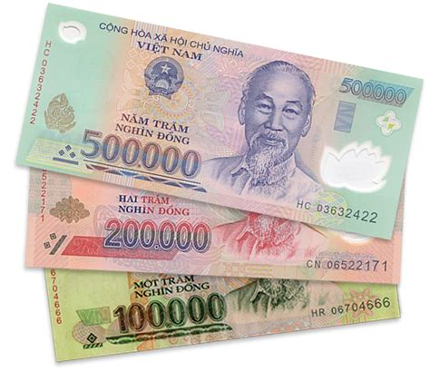 currency vnd 5 000 000 dong 10 of the 500 000 denomination