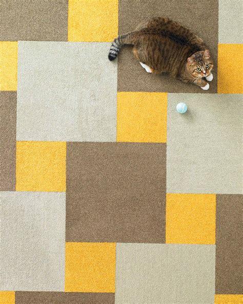 pattern carpet tiles diy flooring patterns martha stewart