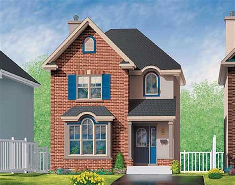 brick house plan in two versions 80212pm 2nd floor