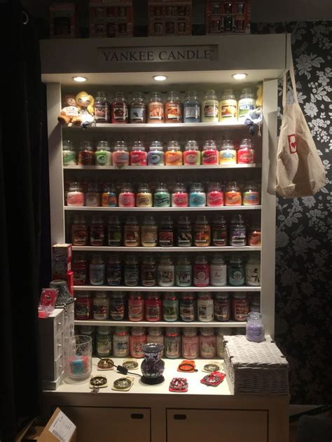 Candle Display by Yankeelove Yankee Candle Display Unit Place Like Home