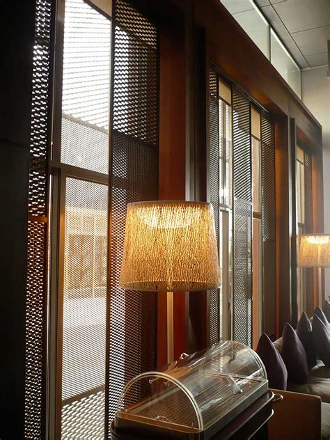 design of interior decoration expanded metal mesh for interior design and furnishings