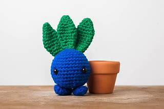 amigurumi oddish pattern ravelry oddish from pokemon amigurumi pattern by tiny