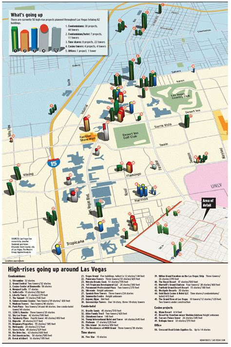 las vegas map las vegas high rise condos las vegas high rise map las