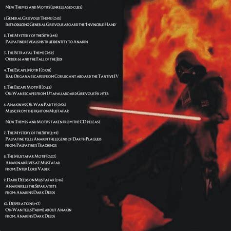 music theme vs motif star wars episode iii
