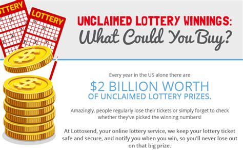 $2 Billion Unclaimed Lottery Winnings In The US ... Lottosend
