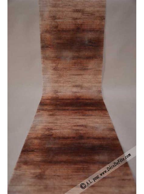 Chemin De Table Bois by 5m Chemin De Table Planches De Bois Cchocolat