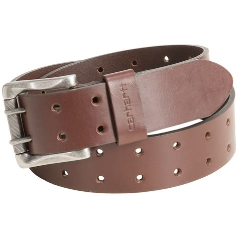 carhartt prong leather belt for