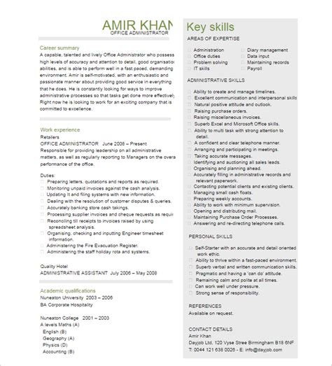 Administrative Manager Resume by 16 Free Administrative Assistant Resume Templates Pdf