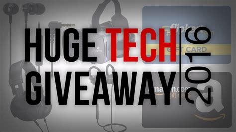 Tech Giveaways - huge tech giveaway 2016 truetech