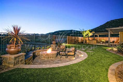 sunken backyard fire pit sunken or raised patios hardscape gallery western outdoor
