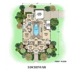 european estate house plans