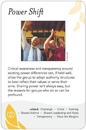 group works pattern language cards power shift group works
