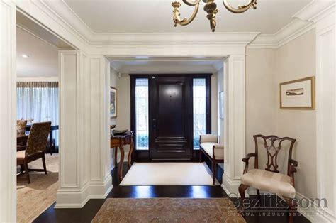 Front Door Interiors The Black Interior Of Front Door House