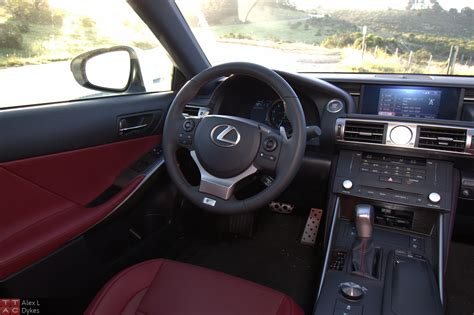 lexus sport car interior 2015 lexus is 350 f sport interior 005 the truth about cars