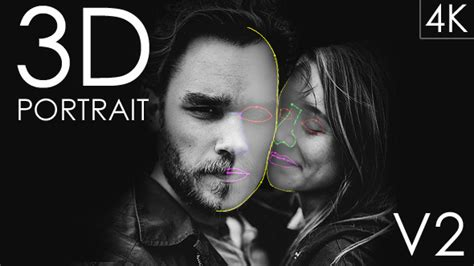 after effects 3d portrait template templateshub