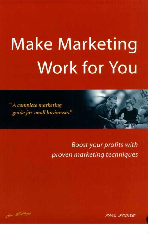 Make Marketing Work For You
