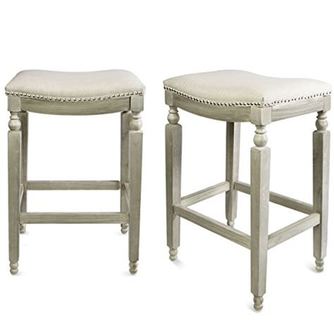 28 Inch Backless Bar Stools by Barton Padded Counter Saddle Backless Indoor