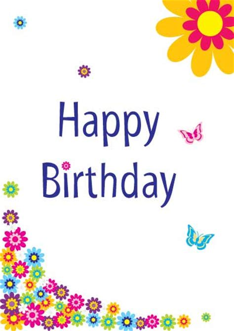 printable birthday ecards free printable birthday cards for girls my free