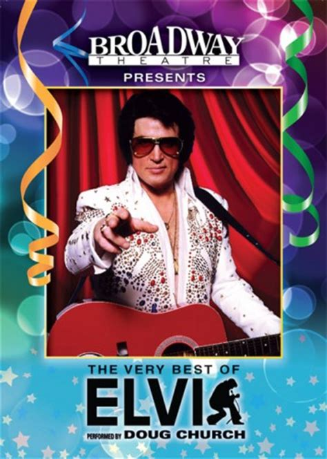 the best of elvis the best of elvis performed by doug church returns to