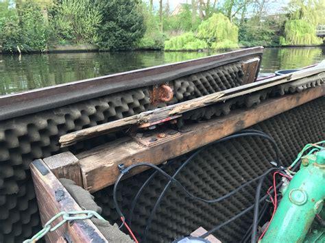 polyester boot laten verven boot houten motorkast maken werkspot