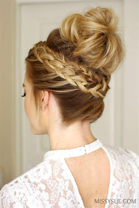 High Bun Hairstyle by Braid High Bun Sue