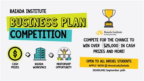 Business Plan Compeitions Mba by Baiada Institute Business Plan Competition Baiada