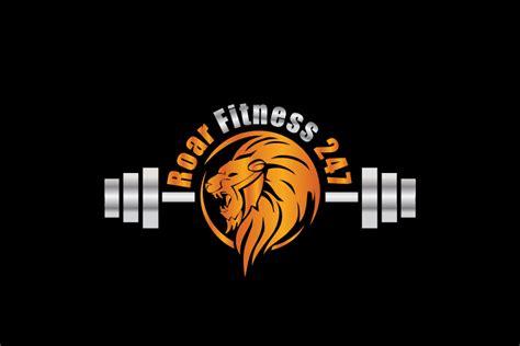 design a gym logo gym logo design for roar fitness 247 by colorflix