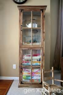 Curio Cabinet For Quilts Top 25 Best Linen Storage Ideas On Organize A