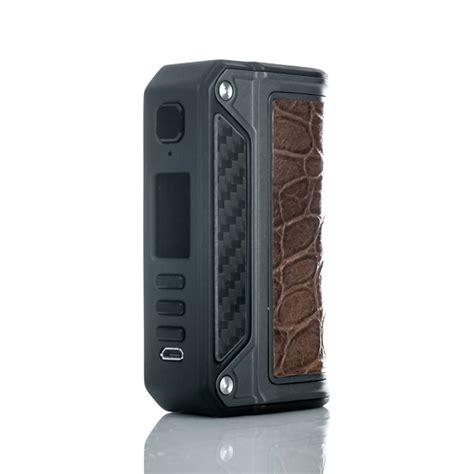 Murah Mod Vapor Vape Therion Dna 75c Black Carbon lost vape therion dual 18650 dna 75c box mod vaping devices